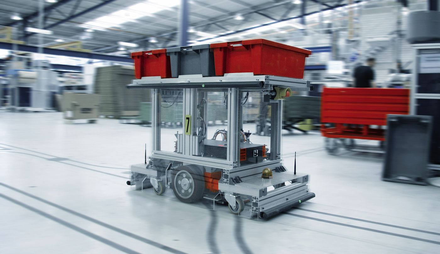 The automated guided vehicle engineering essay